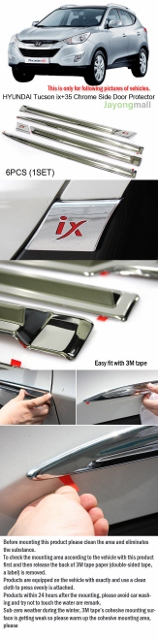 HYUNDAI Tucson ix+35 Chrome Side Door Protector  (158x640).jpg